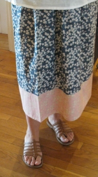 Liberty , jupe , longue